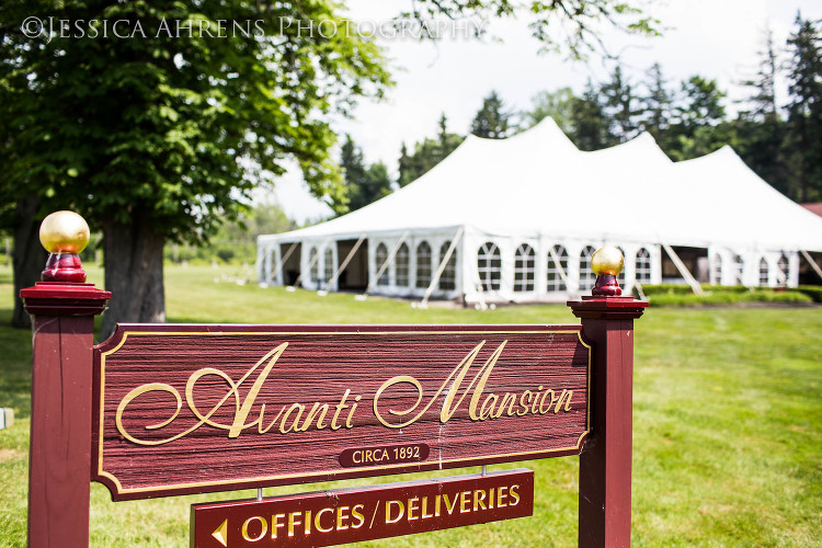 avanti mansion outdoor wedding photography buffalo ny_1