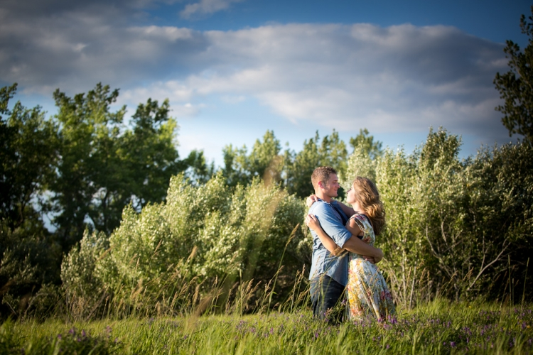 Wedding engagement photography at Tifft Nature Preserve in Buffalo, NY.
