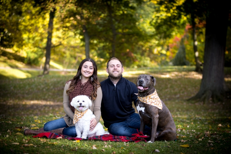 Beautiful and fun outdoor fall engagement session taken in Buffalo, NY.
