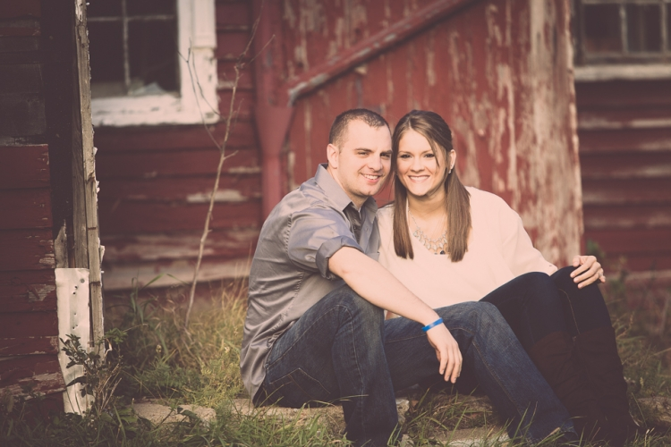 Modern and fun engagement photography taken at Knox Farm State Park in East Aurora, NY.